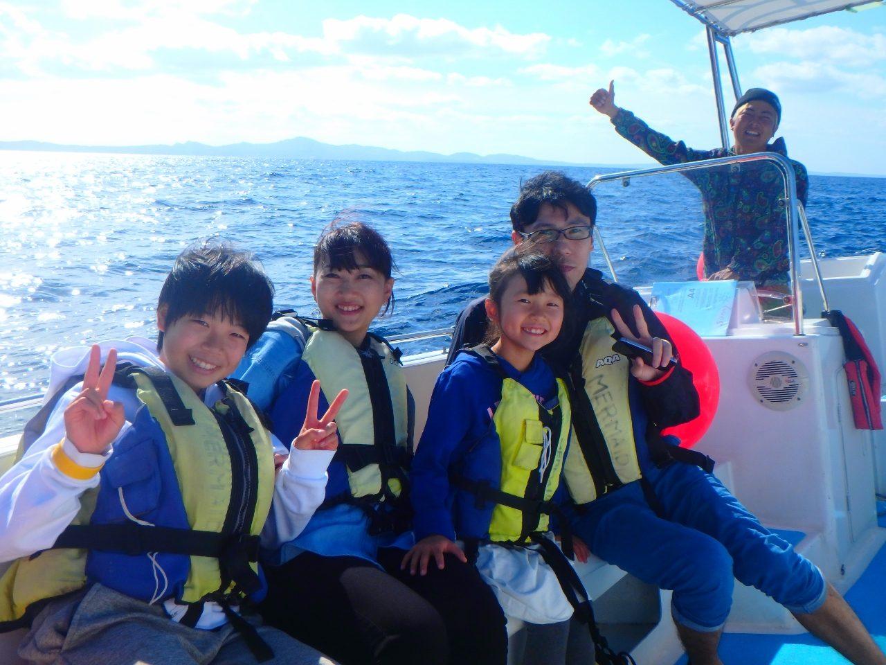 ☀快晴☀【沖縄マリンスポーツ専門店★水納島マーメイド】