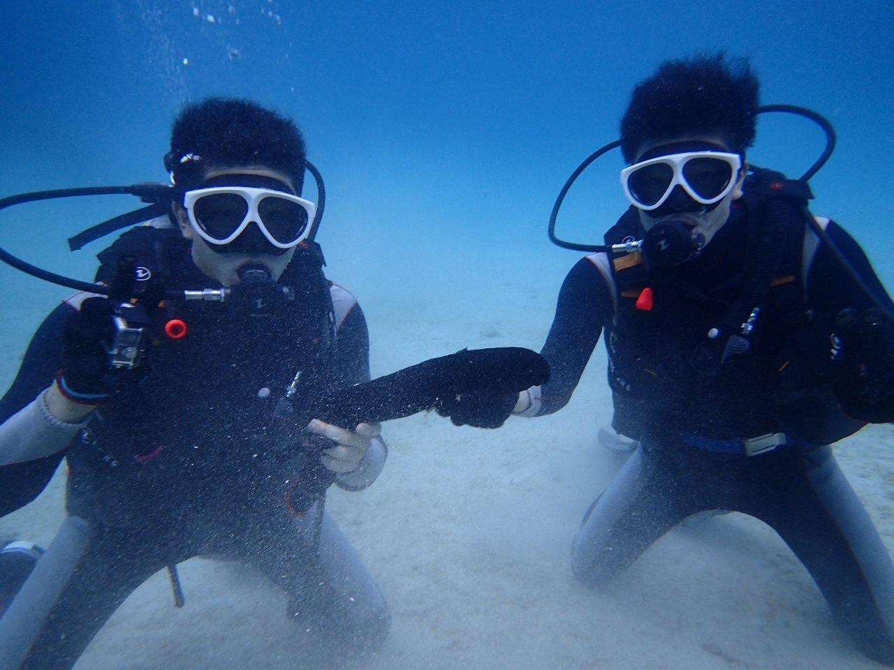体験ダイビング【沖縄マリンスポーツ専門店★水納島マーメイド】