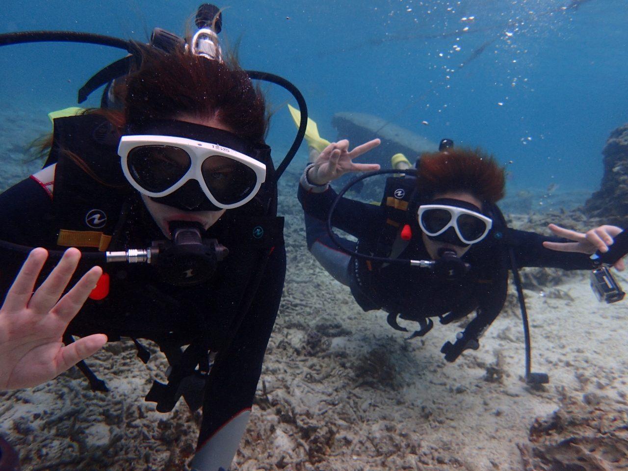 水納島♡体験ダイビング【沖縄マリンスポーツ専門店★水納島マーメイド】