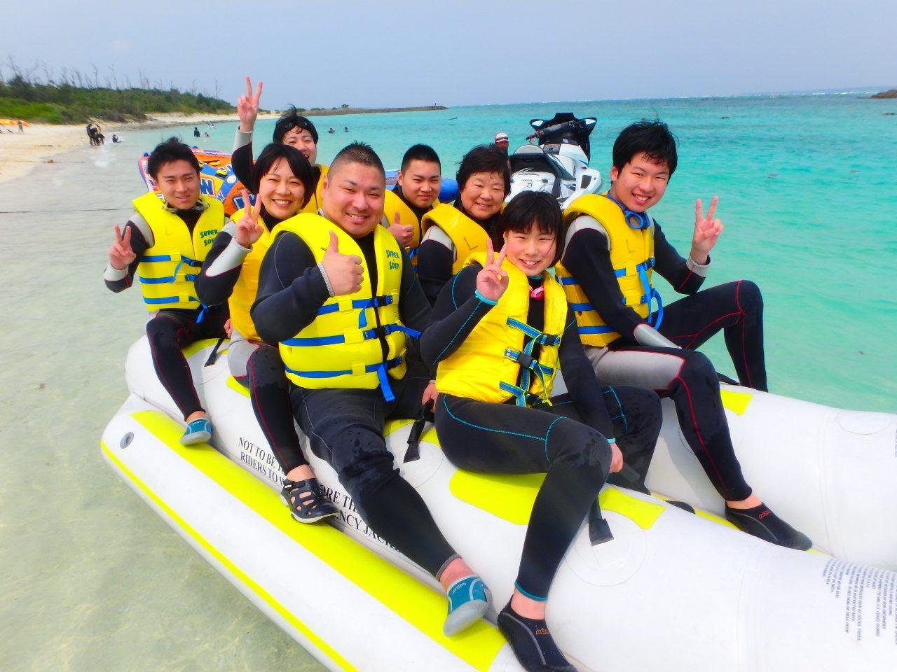 水納島OPEN(*^_^*)【沖縄マリンスポーツ専門店★水納島マーメイド】