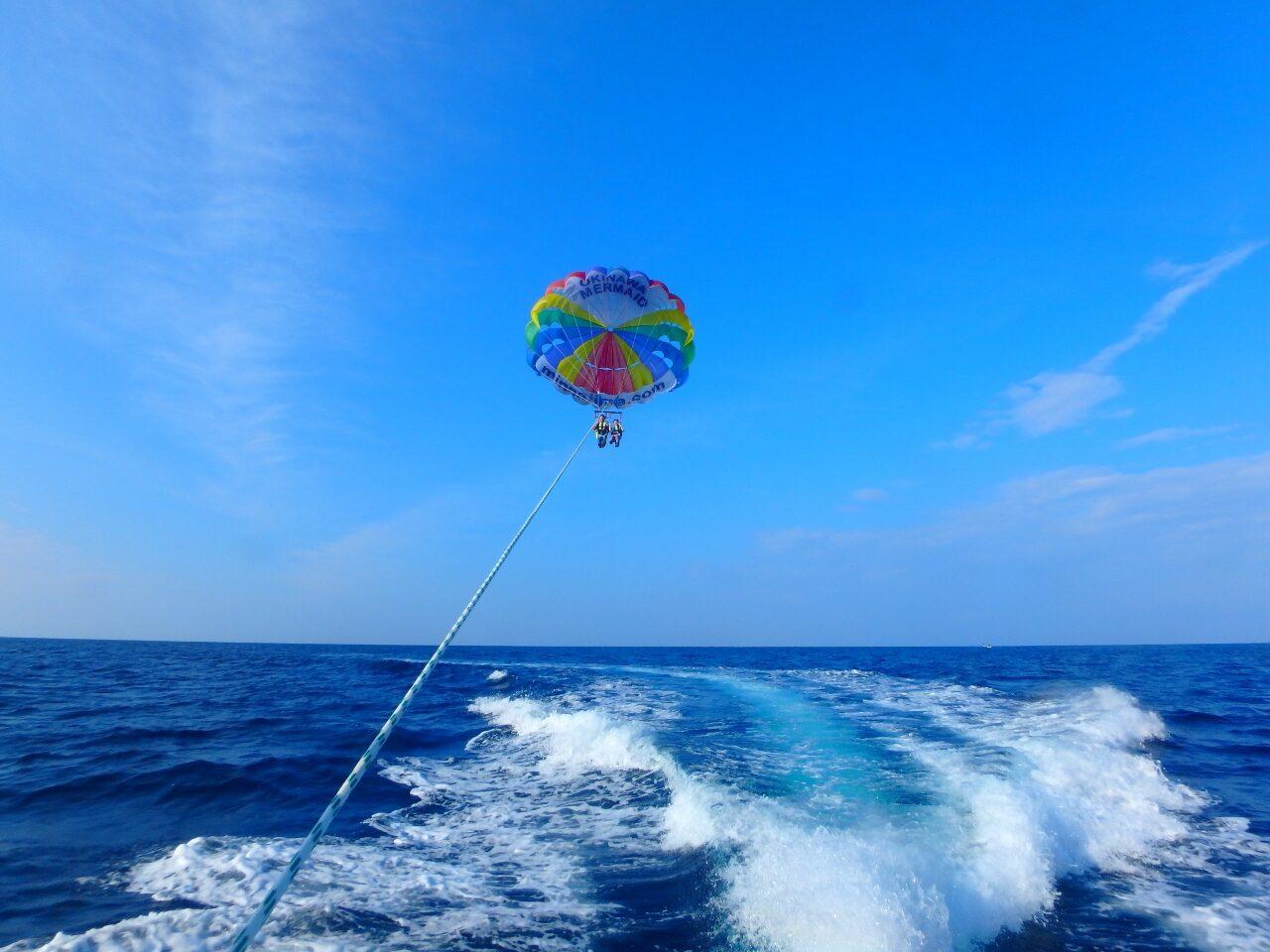 良いお天気☀【沖縄のマリンスポーツ専門店☆水納島マーメイド】