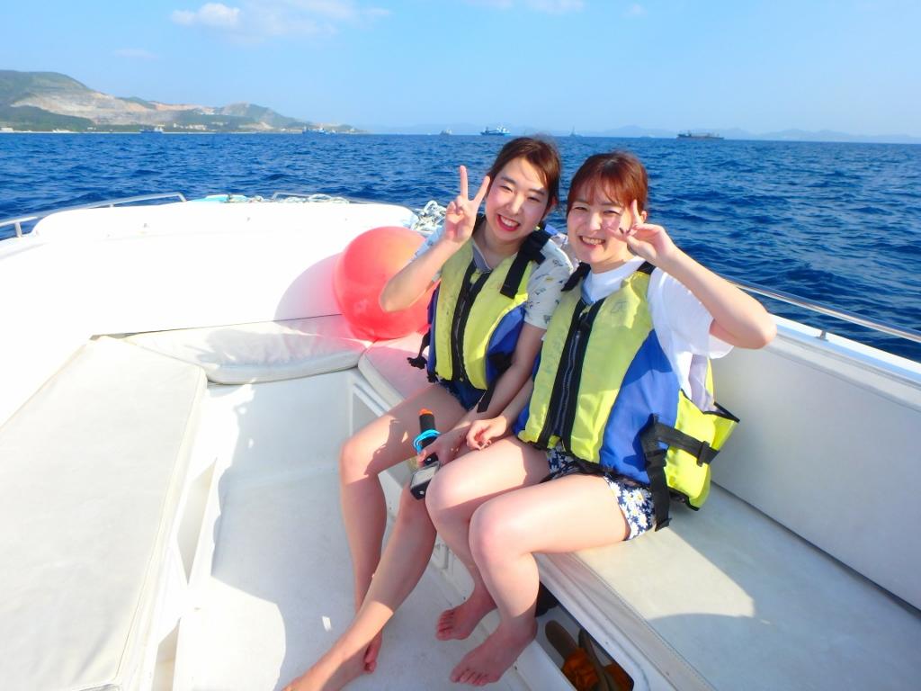 パラセーリング(≧◇≦)【沖縄のマリンスポーツ専門店☆水納島マーメイド】