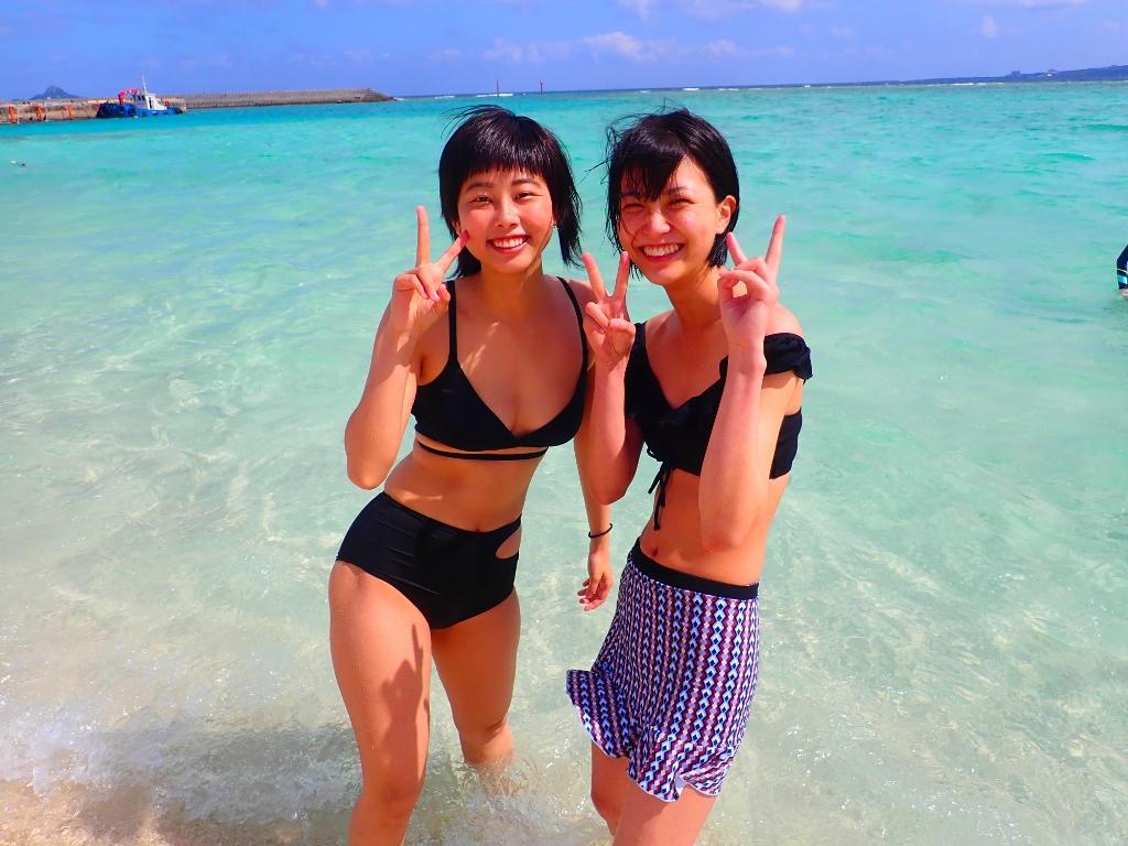 気持ちイイ天気ですね(*´▽`*)【沖縄のマリンスポーツ専門店☆水納島マーメイド】