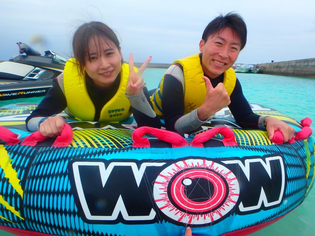 久しぶりに冷たい風で気持ち良かったですね【沖縄のマリンスポーツ専門店☆水納島マーメイド】