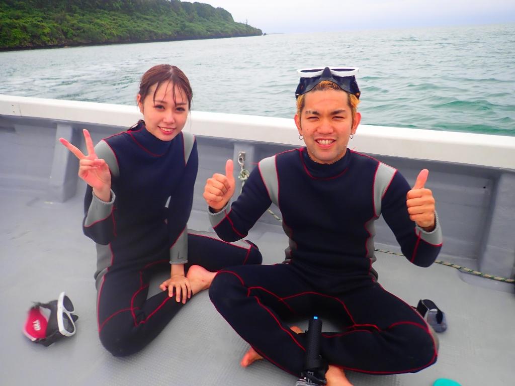 こんな日は海の中へ!!【沖縄のマリンスポーツ専門店★水納島マーメイド】