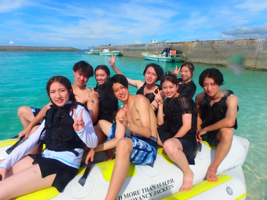 水納島は8月なみに暑かったです(^^♪【沖縄のマリンスポーツ専門店★水納島マーメイド】